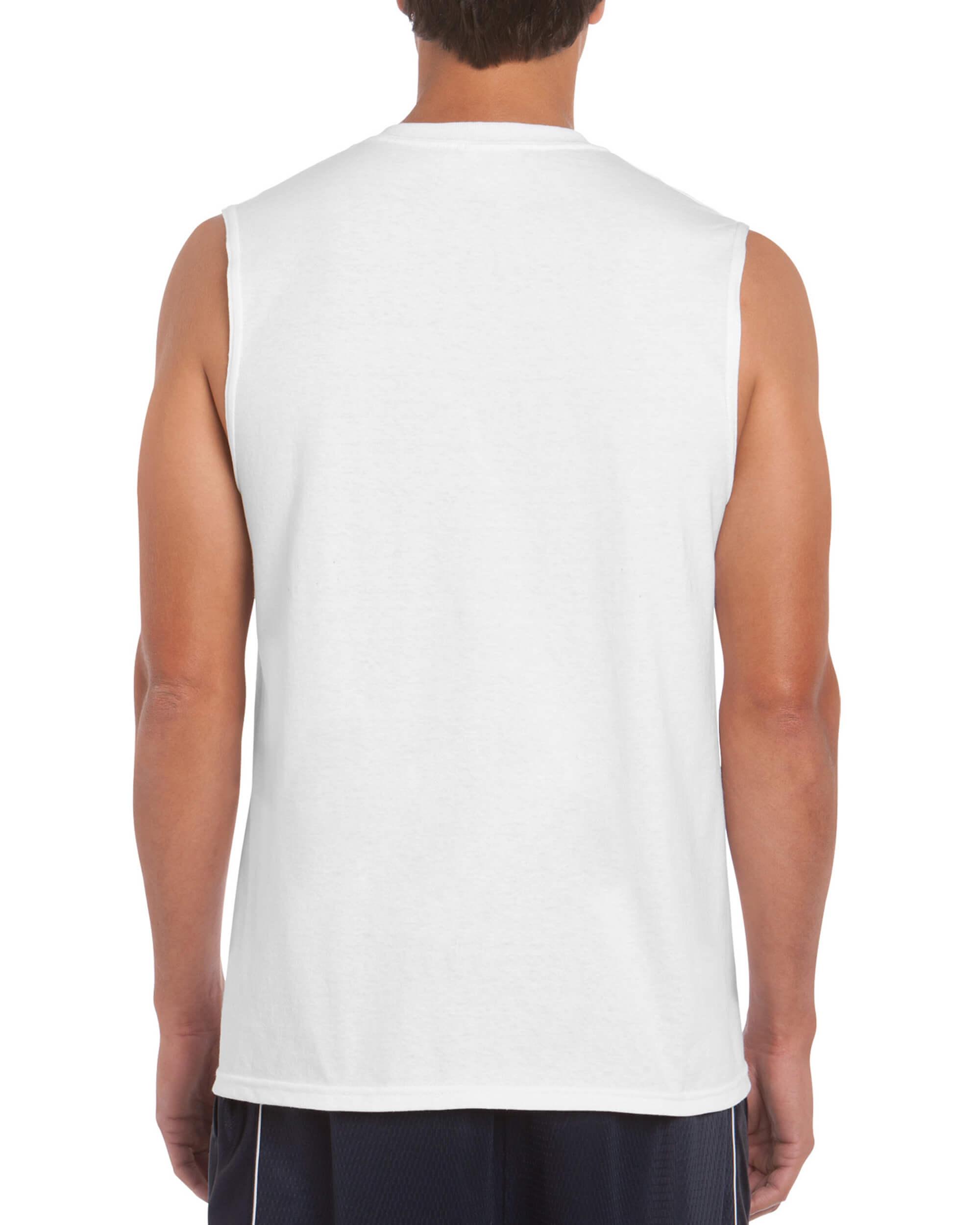 3ba2502cc White Muscle Shirt • T-Shirt Explosion