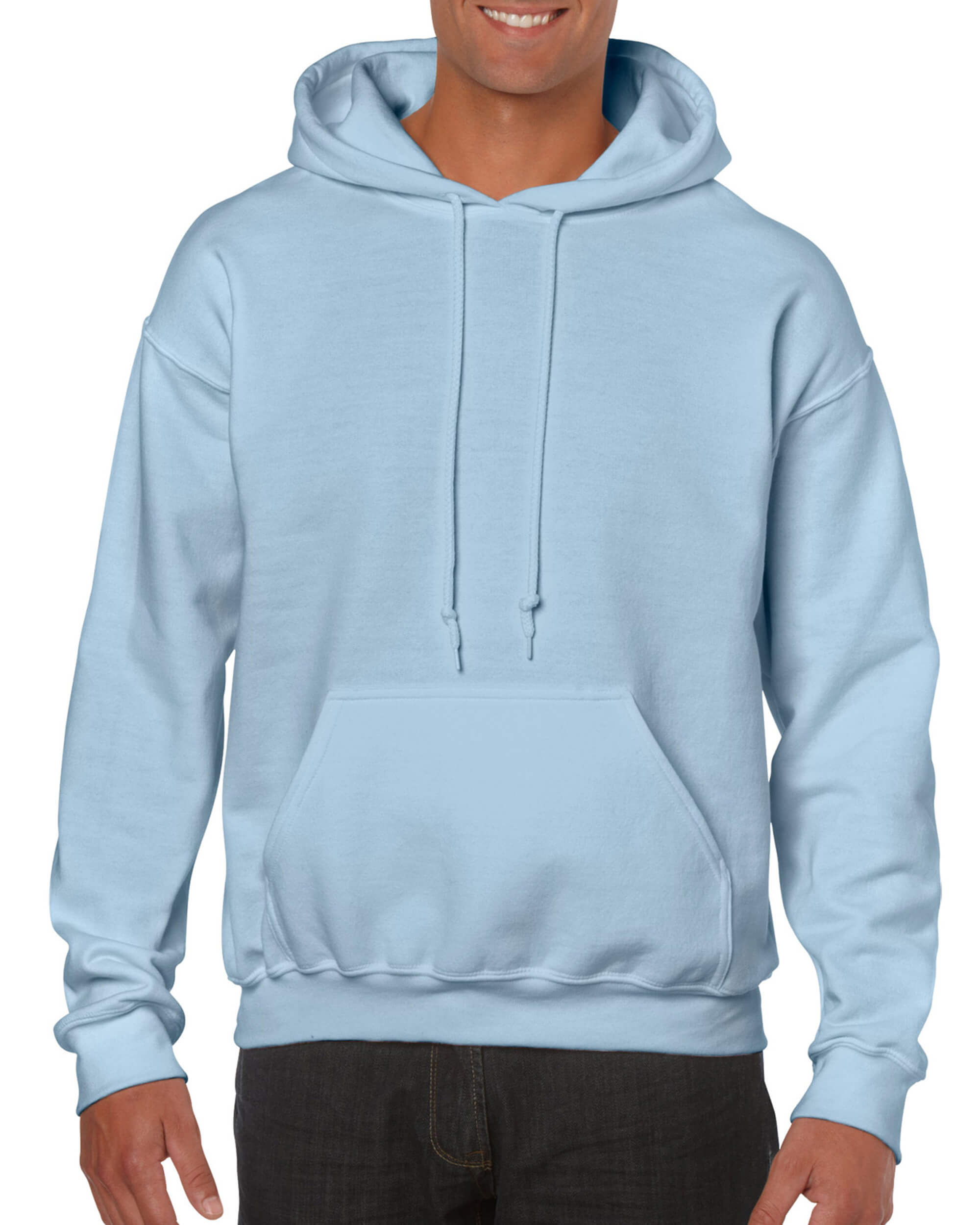 ae0637cf Light Blue Pullover Hoodie • T-Shirt Explosion